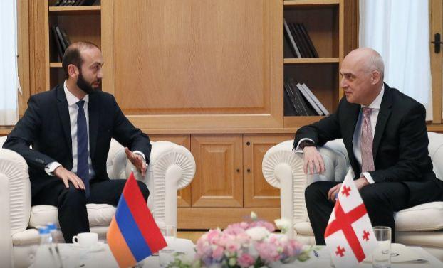 Photo of Հայաստանի և Վրաստանի արտգործնախարարների հանդիպումը