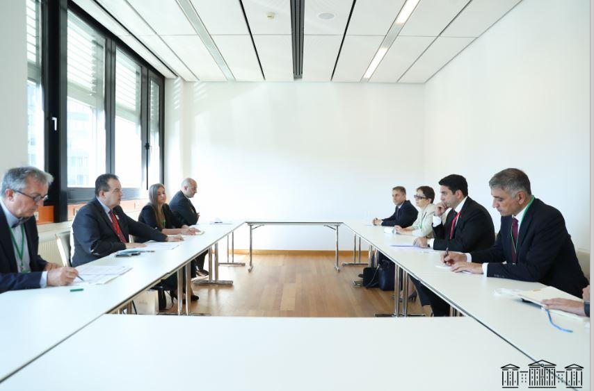 Photo of Ալեն Սիմոնյանը Վիեննայում հանդիպել է Սերբիայի ԱԺ նախագահին