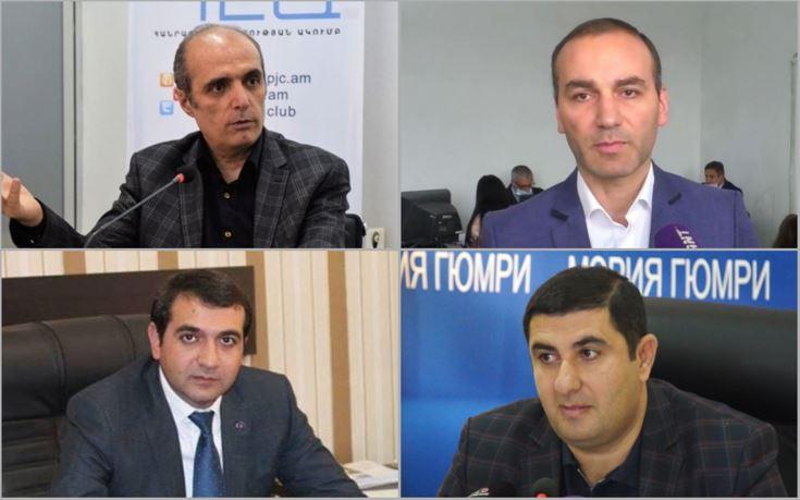 Photo of Кандидаты,  участвующие в ОМС  города Гюмри