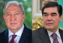 Photo of Президент Армении поздравил Гурбангулы Бердымухамедова по случаю национального праздника