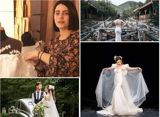 Photo of Маленькая Лара и мечтать не могла, что спустя годы сама сошьет свое свадебное платье.