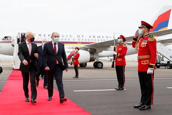 Photo of Նիկոլ Փաշինյանը պաշտոնական այցով ժամանեց Թբիլիսի