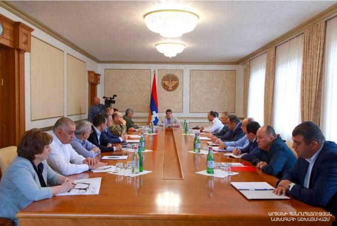 Photo of Президент Арутюнян провел расширенное рабочее совещание