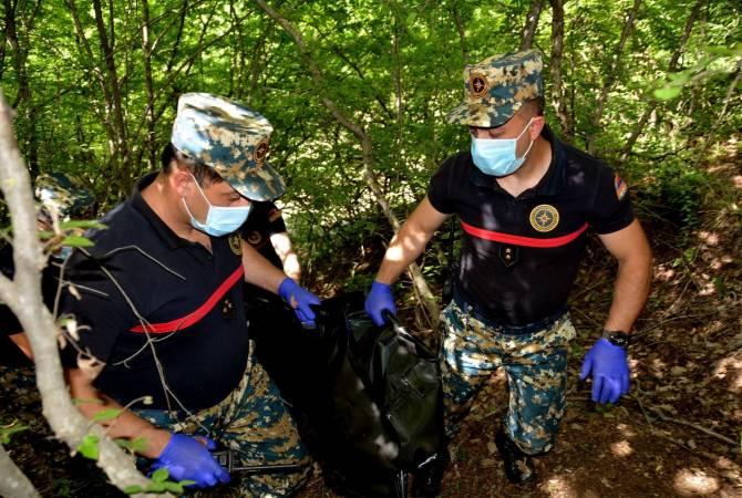 Photo of В Варанде обнаружены останки тела армянского военнослужащего
