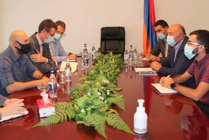 Photo of Сюник является одним из приоритетов посольства США: губернатор Сюника принял вице- посла США
