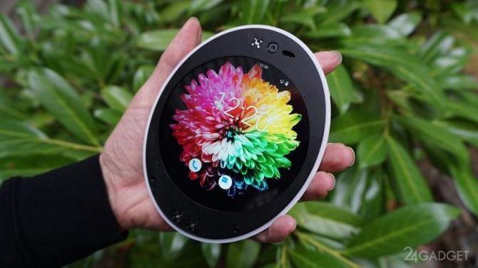 Photo of Ներկայացվել է կլոր էկրանով Android սմարթֆոնը