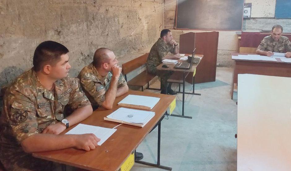 Photo of Անցկացվել են շտաբային մարզումներ. ՀՀ ՊՆ