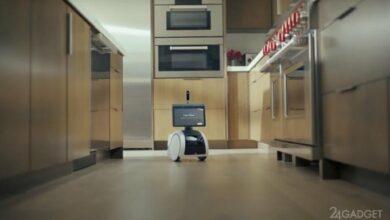 Photo of Amazon Astro — домашний робот помощник, способный принести хозяину пиво