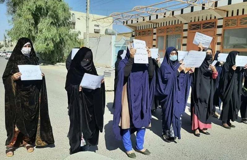 Photo of Талибы применили газ для разгона женской акции протеста в Кабуле
