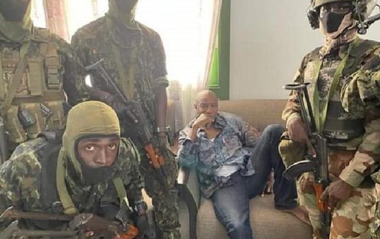 Photo of Опубликовано видео с президентом Гвинеи после госпереворота