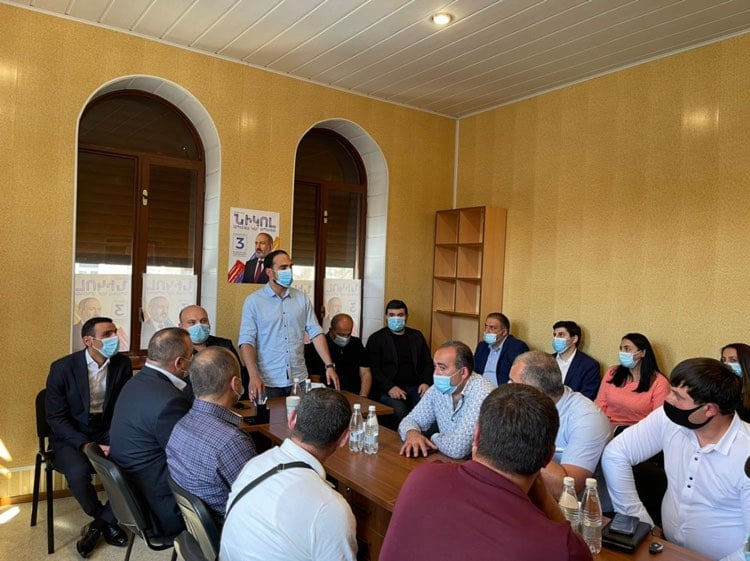 Photo of Տեղի է ունեցել «Քաղաքացիական պայմանագիր» կուսակցության Դիլիջանի տարածքային կառույցի ստեղծումը