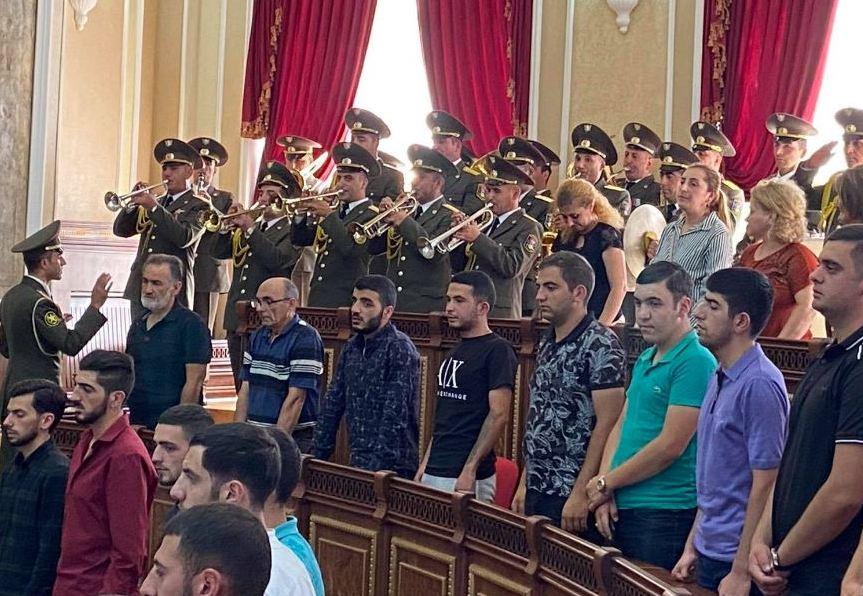 Photo of Գյումրիում Արցախյան  պատերազմի մասնակից  58 զինծառայողներ պարգևատրվել են