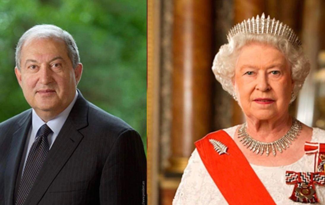 Photo of По случаю Дня Независимости Елизавета II направила Армену Саркисяну поздравительное послание