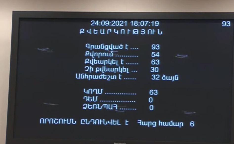 Photo of Национальное Собрание приняло проект по укрупнению общин
