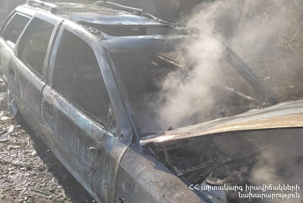 Photo of Երևան-Սևան ավտոճանապարհին ավտոմեքենա է այրվել