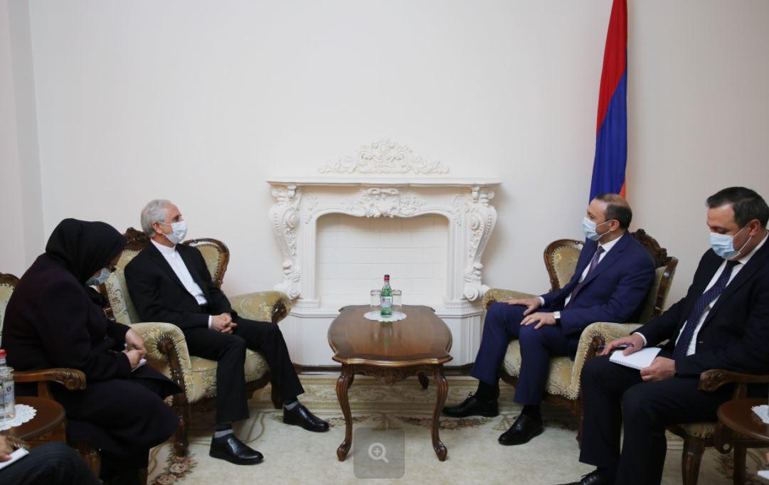 Photo of ԱԽ քարտուղարը հանդիպել է Իրանի դեսպանին