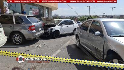 Photo of Ավտովթար-վրաերթ՝ Երևանում. բախվել են Porsche Cayenne-ը, Nissan Tiida-ն, Volkswagen-ը. կա վիրավոր