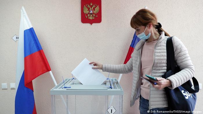 Photo of Первые данные ЦИК РФ указывают на победу «Единой России»