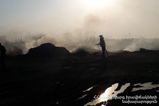 Photo of Հրշեջ-փրկարարները մարել են ընդհանուր 41.7 հա տարածքում բռնկված հրդեհները