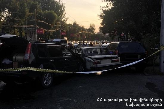 Photo of Մանրամասներ Խանջյան փողոցի վթարից. կան տուժածներ