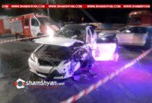 Photo of Խոշոր ու շղթայական ավտովթար Երևանում. կան վիրավորներ