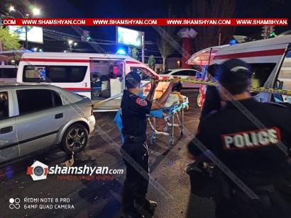 Photo of Քիչ առաջ խոշոր ավտովթար է տեղի ունեցել Հալաբյան-Կիևյան փողոցների խաչմերուկում. կան վիրավորներ
