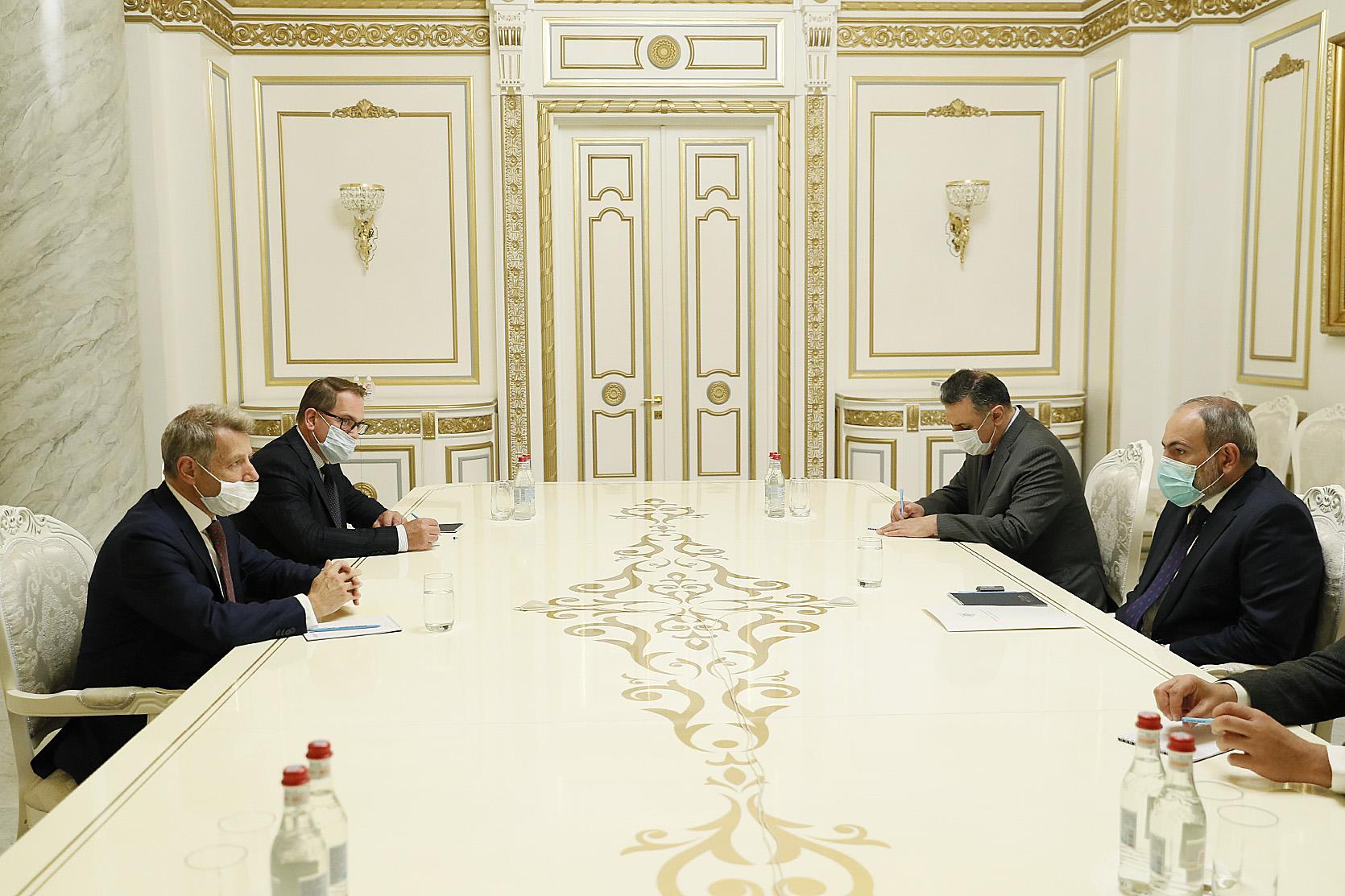 Photo of Премьер-министр принял французского сопредседателя Минской группы ОБСЕ Стефана Висконти