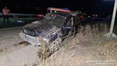 Photo of Ստացվել է 5 ահազանգ ՝ ՀՀ-ում տեղի ունեցած ՃՏՊ-ների վերաբերյալ