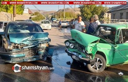 Photo of Խոշոր ավտովթար Կոտայքի մարզում. ճակատ-ճակատի բախվել են Opel-ն ու 06-ը. կա վիրավոր