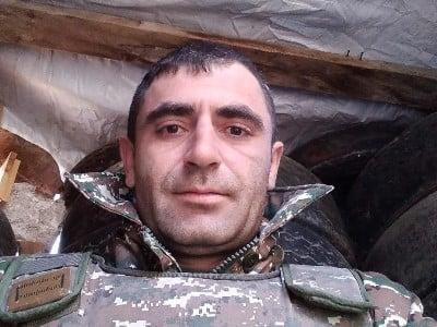 Photo of Погибший сегодня военнослужащий Гегам Саакян был из города Арташат