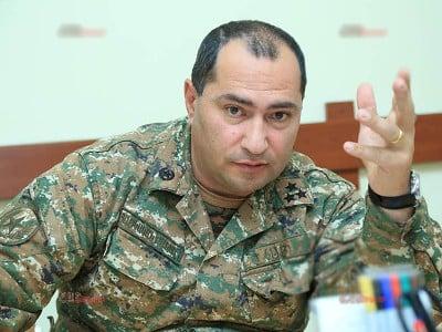 Photo of 5-րդ բանակային կորպուսի հրամանատար Սմբատ Գրիգորյանին շնորհվել է գեներալ-մայորի զինվորական կոչում