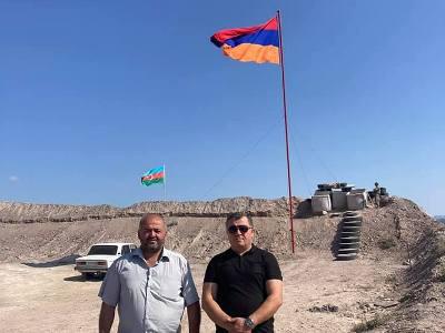 Photo of Հայկական նոր դրոշ է տեղադրվել Տեղում