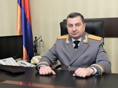 Photo of Артур Гоюнян освобожден с должности и.о. начальника уголовно-исполнительной службы