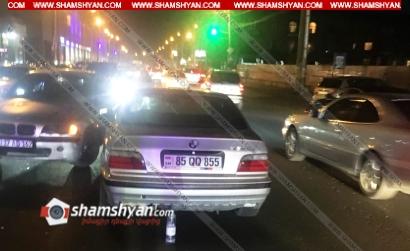 Photo of Երևանում 30-ամյա վարորդը BMW-ով վրաերթի է ենթարկել 2 հետիոտնի, ապա բախվել մեկ այլ BMW-ի. կան վիրավորներ