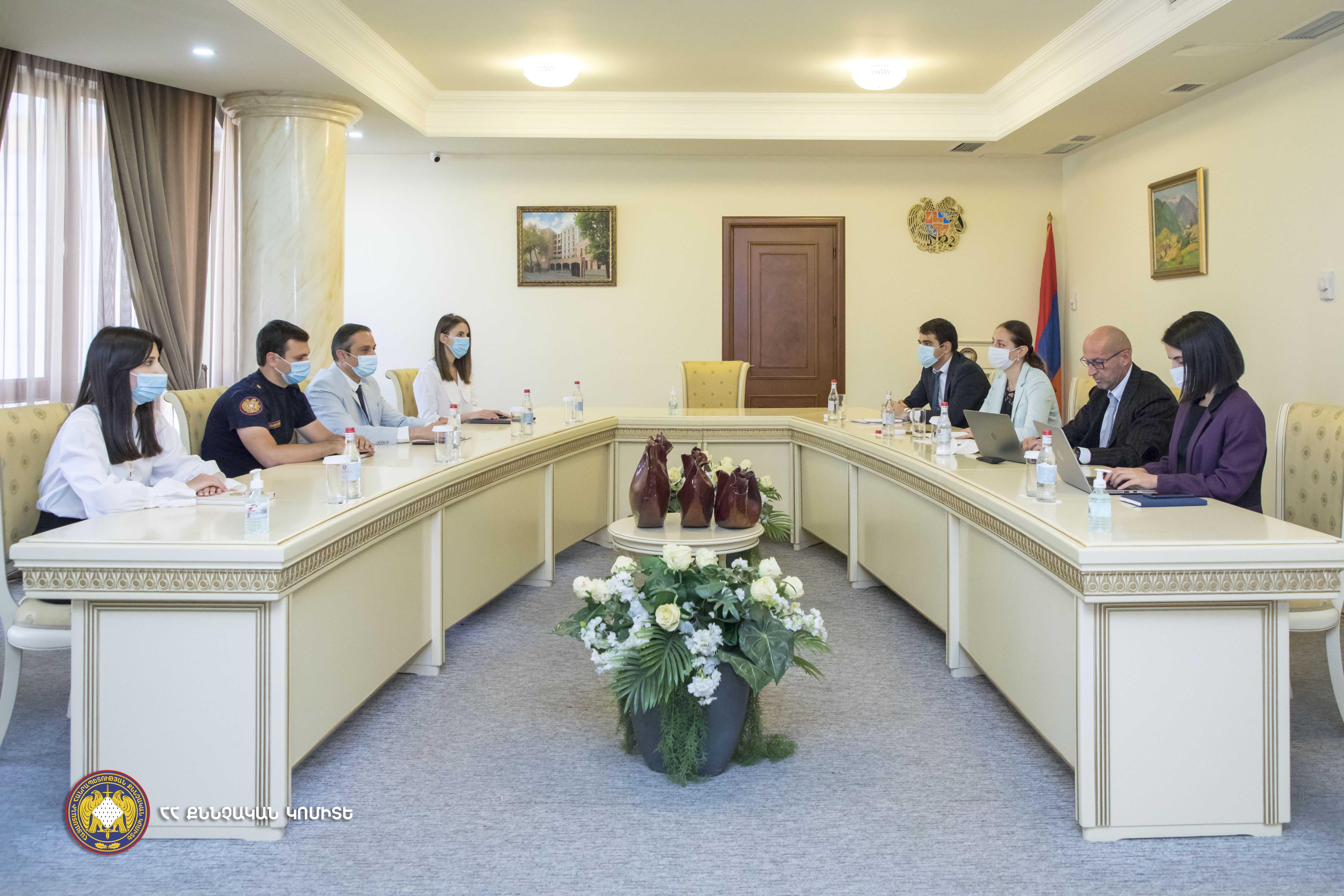Photo of ՀՀ ՔԿ-ում հանդիպում է կայացել ԵԱՀԿ փորձագետի հետ