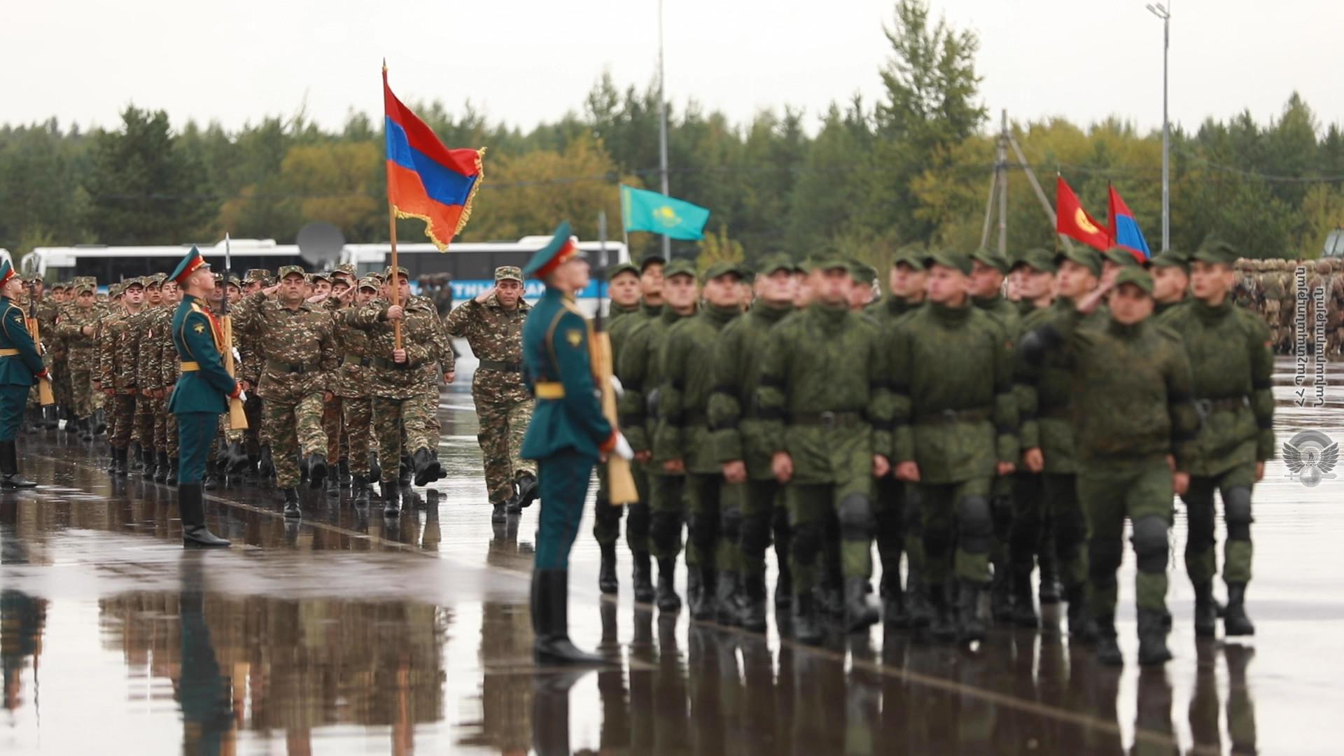 Photo of Армянские военные приняли участие в открытии учений «Запад-2021» в России
