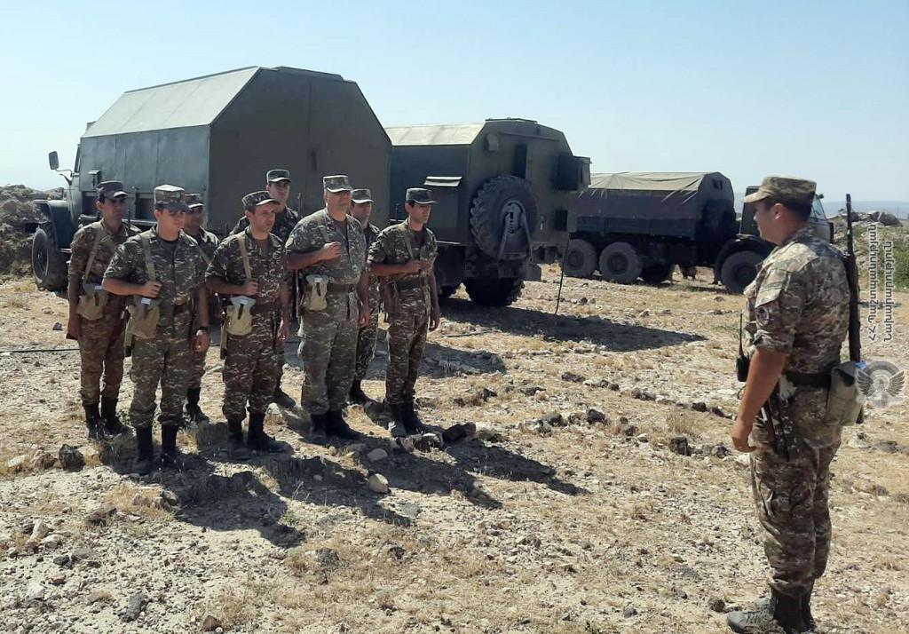Photo of Մեկնարկել են ԶՈւ հակաօդային պաշտպանության զորքերի համալիր մարզումները