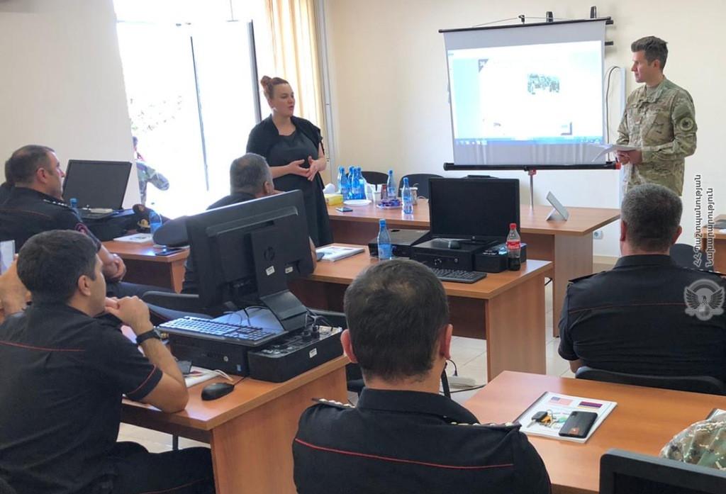 Photo of ՀՀ ՊՆ ռազմական ոստիկանությունում անցկացվել է մեկշաբաթյա դասընթաց