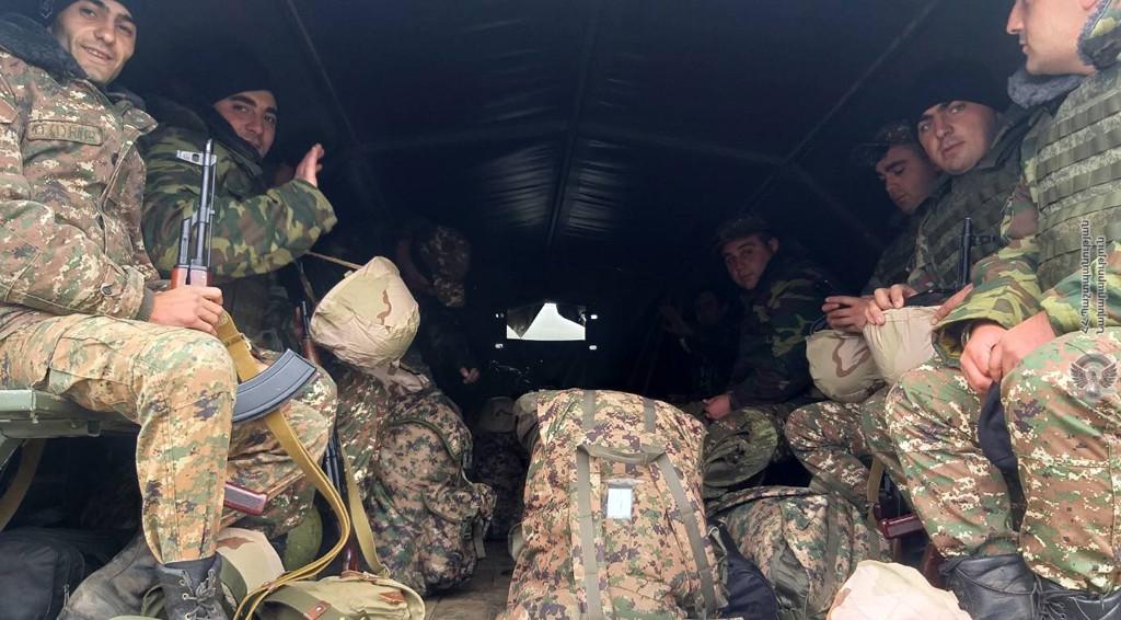 Photo of Резервисты вышли на боевые позиции