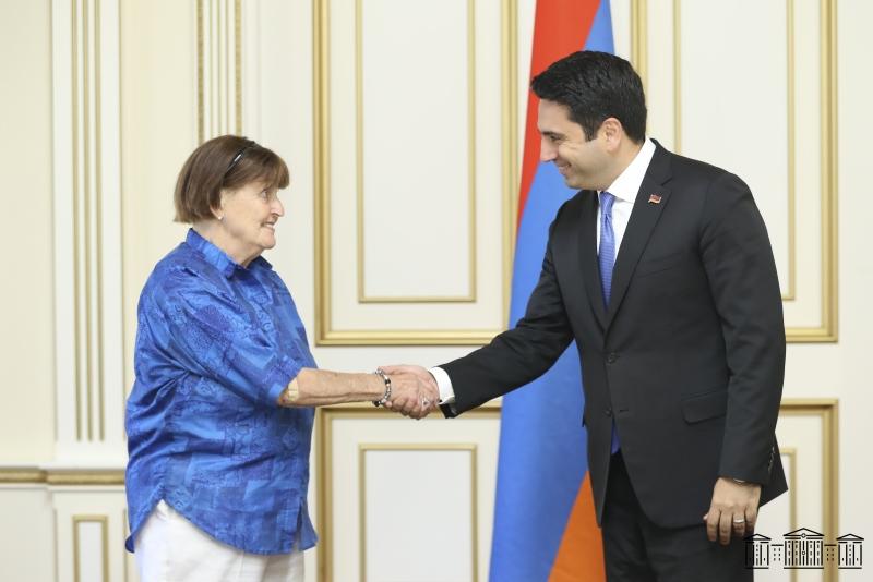 Photo of Председатель НС Армении принял делегацию во главе с баронессой Кэролайн Кокс