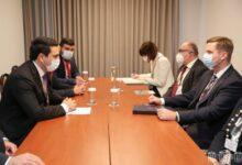 Photo of Председатель НС Армении встретился со спикером Национального Собрания Словении