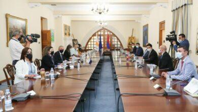 Photo of ՀՀ ԱԺ նախագահի գլխավորած պատվիրակությունը հանդիպել է Կիպրոսի  նախագահի հանձնակատարին