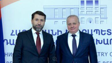 Photo of Министр юстиции Армении и посол РФ обсудили повестку сотрудничества