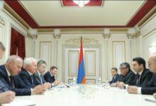 Photo of Спикер НС Армении принял группу участников Армяно-российского межрегионального форума из РФ