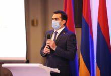 Photo of Вице-спикер НС Акоп Аршакян присутствовал на мероприятии «Армения — инженерная неделя 2021»