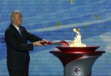 Photo of Огонь зимних Олимпийских игр прибыл в Пекин