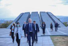Photo of Члены делегации Совета Европы посетили Мемориал Геноцида армян