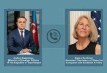 Photo of Помощник госсекретаря США отметила важность нормализации отношений между Арменией и Азербайджаном
