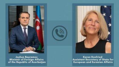 Photo of ԱՄՆ պետքարտուղարի օգնականը կարևորել է Հայաստանի և Ադրբեջանի միջև հարաբերությունների կարգավորումը