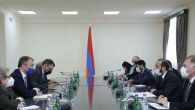 Photo of Глава МИД Армении принял спецпредставителя ЕС на Южном Кавказе